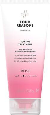 Тонирующая маска для поддержания цвета окрашенных волос Four Reasons Color Mask Toning Treatment Rose Розовое
