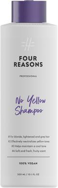Шампунь для нейтрализации желтизны для светлых, осветленных и седых волос Four Reasons Professional No Yellow Shampoo 300 мл