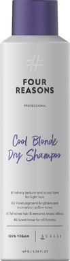 Сухой шампунь нейтрализующий желтизну Four Reasons Professional Cool Blonde Dry Shampoo 250 мл