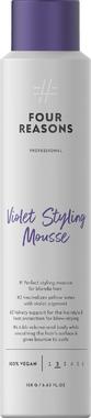 Фиолетовая пенка для объема и нейтрализации желтизны Four Reasons Professional Violet Styling Mousse 200 мл