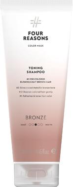 Тонирующий шампунь для поддержания цвета окрашенных волос Four Reasons Color Mask Toning Shampoo Bronze Бронза