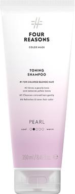 Тонирующий шампунь для поддержания цвета окрашенных волос Four Reasons Color Mask Toning Shampoo Pearl Жемчуг