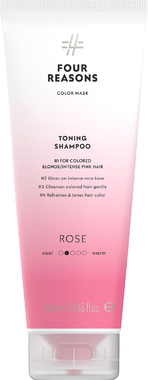 Тонирующий шампунь для поддержания цвета окрашенных волос Four Reasons Color Mask Toning Shampoo Roze Розовый