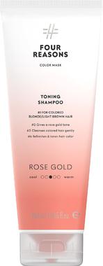 Тонирующий шампунь для поддержания цвета окрашенных волос Four Reasons Color Mask Toning Shampoo Roze Gold Розовое золото