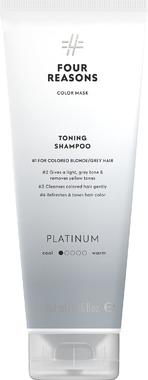 Тонирующий шампунь для поддержания цвета окрашенных волос Four Reasons Color Mask Toning Shampoo Platinum Платина