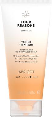 Тонирующая маска для поддержания цвета окрашенных волос Four Reasons Color Mask Toning Treatment Apricot Абрикос