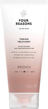 Тонирующая маска для поддержания цвета окрашенных волос Four Reasons Color Mask Toning Treatment Bronze Бронза