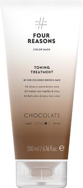 Тонирующая маска для поддержания цвета окрашенных волос Four Reasons Color Mask Toning Treatment Chocolate Шоколад