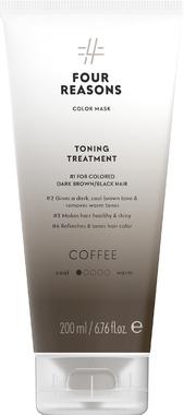 Тонирующая маска для поддержания цвета окрашенных волос Four Reasons Color Mask Toning Treatment Coffee Кофе