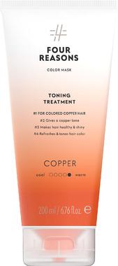 Тонирующая маска для поддержания цвета окрашенных волос Four Reasons Color Mask Toning Treatment Copper Медь