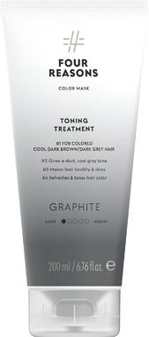 Тонирующая маска для поддержания цвета окрашенных волос Four Reasons Color Mask Toning Treatment Graphite Графит