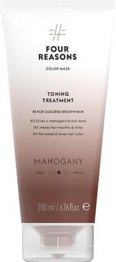 Тонирующая маска для поддержания цвета окрашенных волос Four Reasons Color Mask Toning Treatment Mahogany Махагон