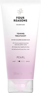 Тонирующая маска для поддержания цвета окрашенных волос Four Reasons Color Mask Toning Treatment Pearl Жемчуг