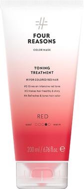 Тонирующая маска для поддержания цвета окрашенных волос Four Reasons Color Mask Toning Treatment Red Красная