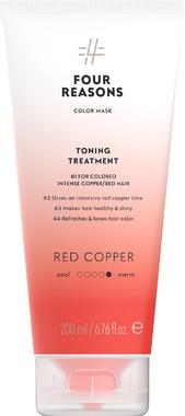 Тонирующая маска для поддержания цвета окрашенных волос Four Reasons Color Mask Toning Treatment Red Copper Красная медь