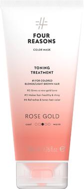 Тонирующая маска для поддержания цвета окрашенных волос Four Reasons Color Mask Toning Treatment Roze Gold Розовое золото