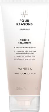Тонирующая маска для поддержания цвета окрашенных волос Four Reasons Color Mask Toning Treatment Vanilla Ваниль