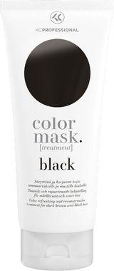 Маска-уход для поддержания цвета окрашенных волос KC Professional Color Mask Treatment Black черная