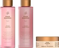 Комплект натуральной коссметики для окрашенных волос Four Reasons Nature Color Shampoo + Conditioner + Rebuild Treatment