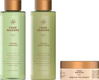 Комплект натуральной коссметики для объема волос Four Reasons Nature Volume Shampoo + Conditioner + Rebuild Treatment