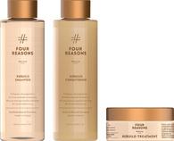 Комплект натуральной коссметики для восстановления волос Four Reasons Nature Rebuild Shampoo + Conditioner + Rebuild Treatment