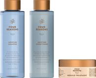 Комплект натуральной коссметики для увлажнения волос Four Reasons Nature Moisture Shampoo + Conditioner + Rebuild Treatment