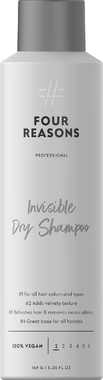 Невидимый сухой шампунь для всех типов волос Four Reasons Professional Invisible Dry Shampoo 250 мл