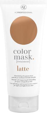 Маска-уход для поддержания цвета окрашенных волос KC Professional Color Mask Treatment Latte латте