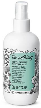 Спрей для увлажнения сухих и химически обработанных волос без запаха и аллергенов KC Professional No Nothing Very Sensitive Moisture Mist