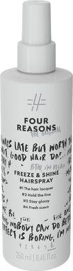 Спрей для кристального блеска и суперсильной фиксации Four Reasons Original Freeze & Shine Hairspray 250 мл