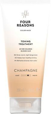 Тонирующая маска для поддержания цвета окрашенных волос Four Reasons Color Mask Toning Treatment Champagne Шампанское 200 мл