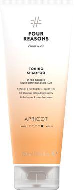 Тонирующий шампунь для поддержания цвета окрашенных волос Four Reasons Color Mask Toning Shampoo Apricot Абрикос 250 мл