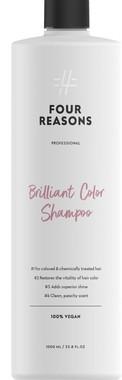 Шампунь для бриллиантового блеска окрашенных волос Four Reasons Professional Brilliant Color Shampoo 1000 мл