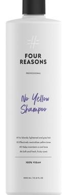 Шампунь для нейтрализации желтизны для светлых, осветленных и седых волос Four Reasons Professional No Yellow Shampoo 1000 мл