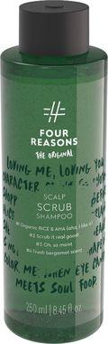 Отшелушивающий и увлажняющий шампунь для волос и кожи головы Four Reasons Original Scalp Scrub Shampoo 250 мл