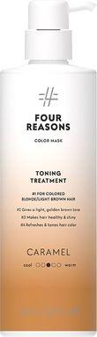 Тонирующая маска для поддержания цвета окрашенных волос Four Reasons Color Mask Toning Treatment Caramel Карамель 500 мл