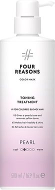Тонирующая маска для поддержания цвета окрашенных волос Four Reasons Color Mask Toning Treatment Pearl Жемчуг 500 мл