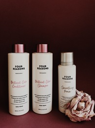 Набор для ревитализации окрашенных волос Brilliant Color Shampoo + Brilliant Color Conditioner + Smoothing Foam