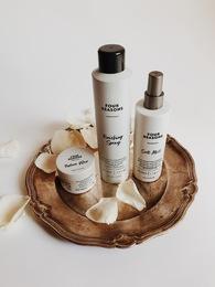 Набор стайлинга для отчетливой и грубой текстуры Salt Mist + Texture Wax + Finishing Spray